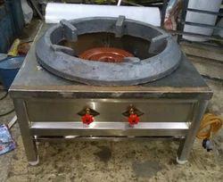 Stainless Steel Biryani Bhatti