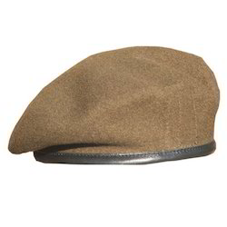 Brown Beret Caps