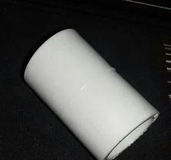 White UPVC Plain Coupler