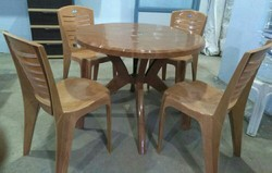 Nilkamal Plastic Dining Table With Chairs