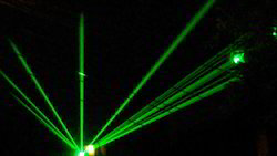 Stage Laser Beam Light Services