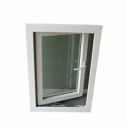 White UPVC Double Glazed Casement Window