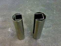 SS Square Slotted Tube