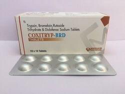 Trypsinm Bromelain Rutoside Diclofenac Sodium Tablets