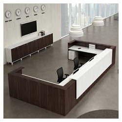 modern furniture glass reception metal desks product steel customreceptalumscglslr in and aluminum stoneline custom designs desk