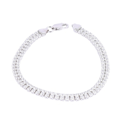 Ultra Light Alberta 925 Sterlinbg Silver Bracelet