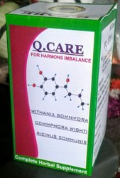 Q.Herbal Healthcare Q Care Capsules For Thyroid Hypo / Hyper Pkg.30.capsule, for Clinical, Prescription