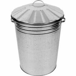 Galvanized Dust Bin