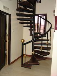 MS Angle Spiral Stair
