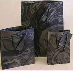 Printed Handmade Marble Paper Bag