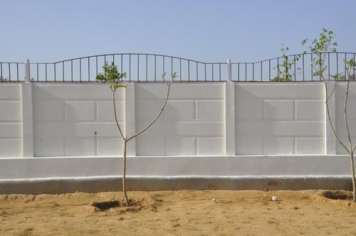 Precast Boundary Wall Designer Wall At Rs 52 Square Feet