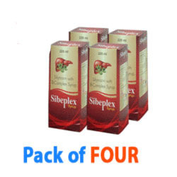 Pack of Four Sibeplex Syrup Liver Tonic
