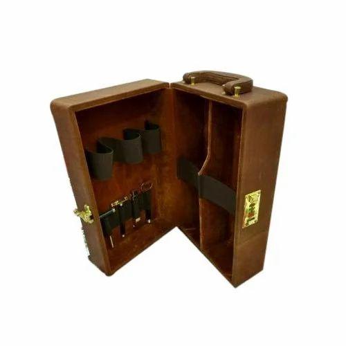 Wooden Bar Set Box