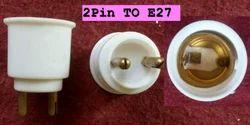 Lamp Adapter 2 pin to E27, 230V