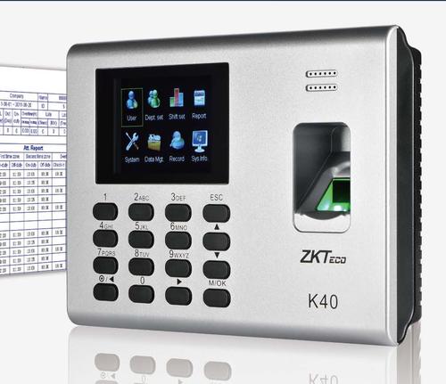 Attendance System Zk Teco Model K 40