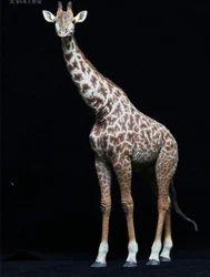 Fiber Giraffe Statue
