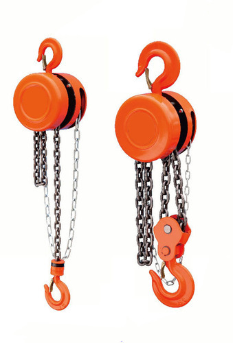 Chain Pulleys, Capacity: 3 ton, for Lifting Platform