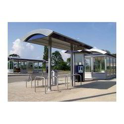 Steel Bus Shelter