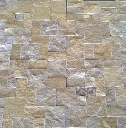 Natural Stone Rock Face Mosaics Tiles