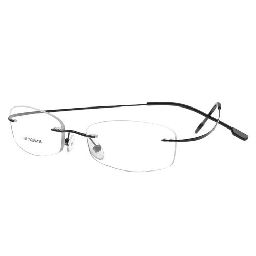 ee0fd229263 Male Optical Rimless Spectacle Frames