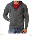 Black Grey Promotional And Winter Wear Hoodies