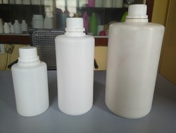 Plastic And PP White HDPE Plastic Seal Bottles