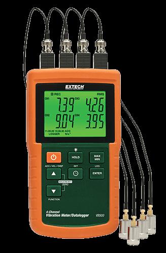 EXTECH Vibration Meter, Aimtech Solutions | ID: 14080438188