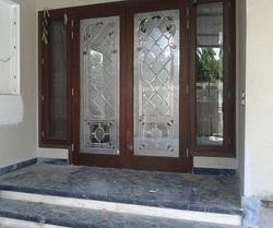 Decorative Glass For Entry Door