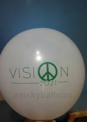 Vision Small Printed Balloon