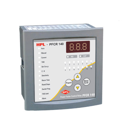 HPL - Power Factor Controller - View Specifications ... Apfc Relay Control Wiring Diagram on