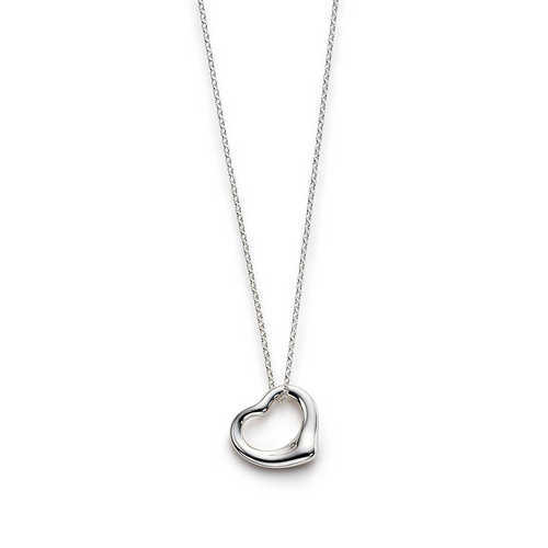 Silver Plated Small Heart Necklace Pendant At Rs 35 Piece S