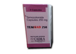 Temozolomide 250 mg TemCad Capsules Price & Details