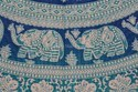 Twin Indian Tapestry Mandala Wall Hanging Elephant Decor