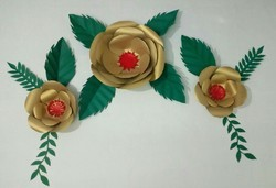 Paper Flower Backdrop Decoration Service