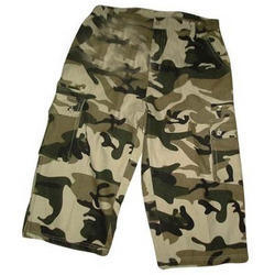 Sports Military Print Men''S Capri Shorts