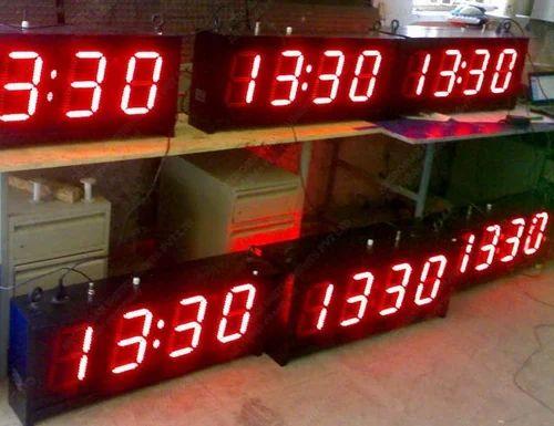 LED Clocks - GPS Clock Manufacturer from Pune