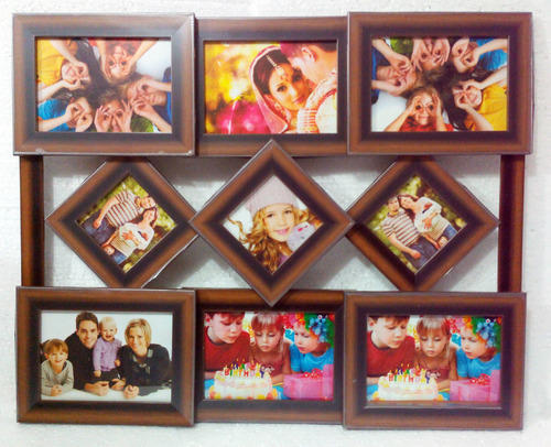 Moulded Collage Photo Frame Diamond 9-in-1 at Rs 450 /piece(s ...