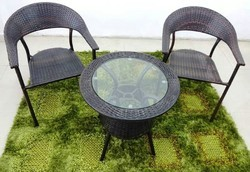 Garden Metal Chair and Table Set