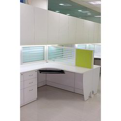 Glass Partition Workstation
