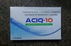 Coenzyme Q10 L-Carnitine L-Arginine Lycopene & Astaxanthin Capsules