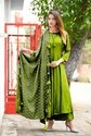 Green Red Blue And More 5 Casual And Party Wear Frock Style Suit