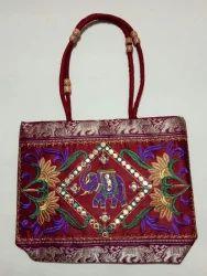 Cotton Multicolor Handicrafts bags