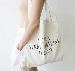 Cotton 3 Carry Bag
