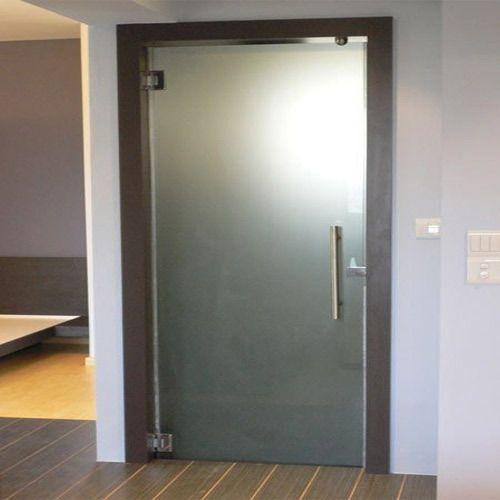 Gl Bathroom Toughened Door Dimension 1000x500 Mm