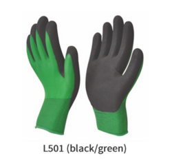 Foam Latex Coated Gloves For Material Handling