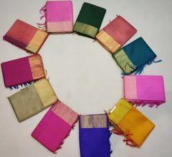 Pure raw silk Handloom sarees