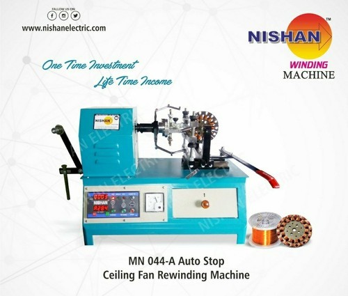 Manual Ceiling Fan Winding Machine Nishan Electric Id