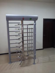 Full Height 120 Degree Single Lane Turnstile