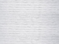 Stone Cladding -Natural Stone White Waves for Wall, Size: 300 x 300mm