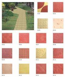 Designer Chequered Floor Tiles
